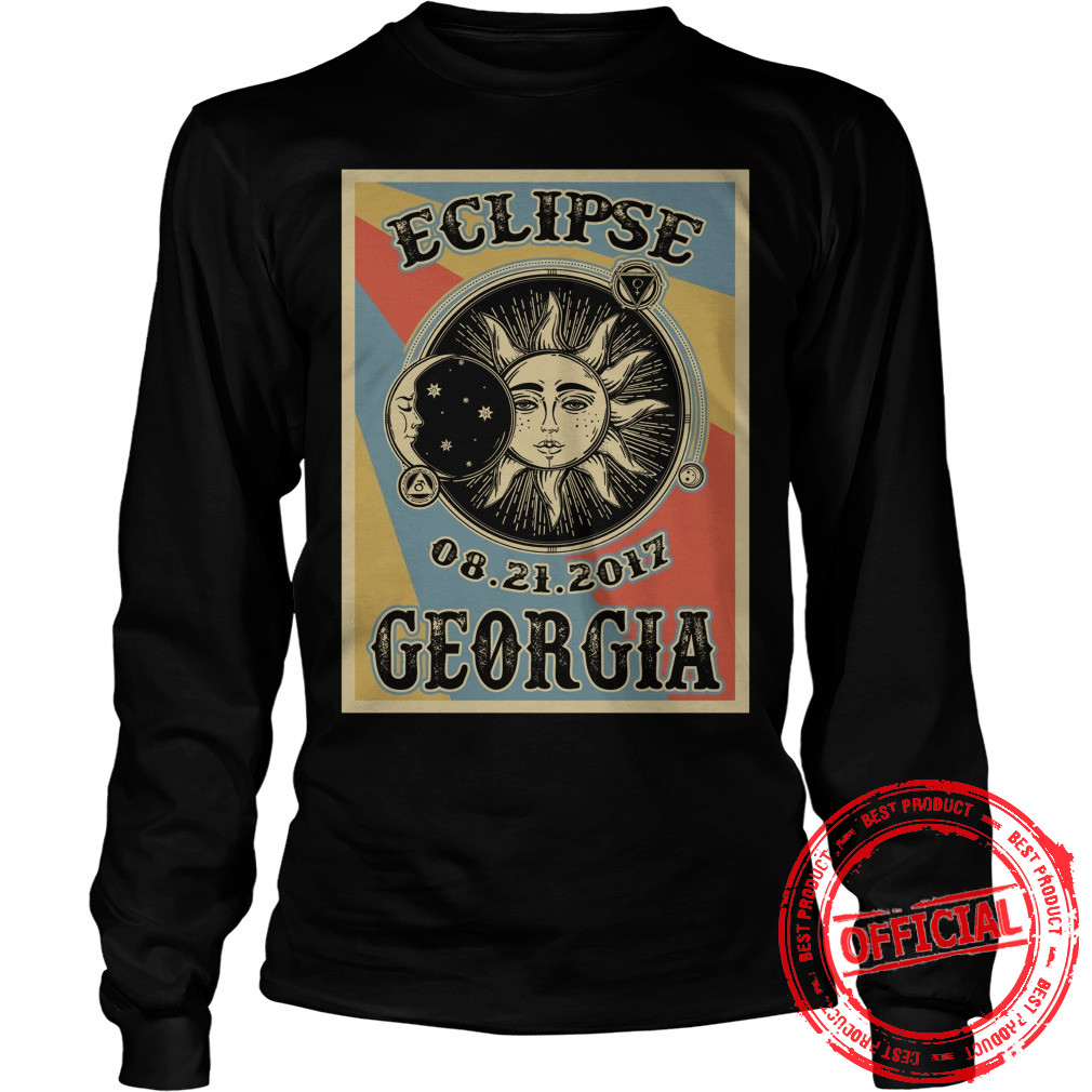 Totality Solar Eclipse 2017 In Georgia Longsleeve