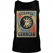 Totality Solar Eclipse 2017 In Georgia Tank Top