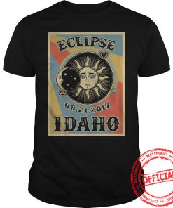 Totality Solar Eclipse 2017 In Idaho T Shirt