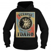 Totality Solar Eclipse 2017 In Idaho Hoodie