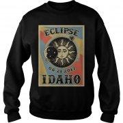 Totality Solar Eclipse 2017 In Idaho Sweatshirt
