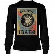 Totality Solar Eclipse 2017 In Idaho Unisex Longsleeve Tee