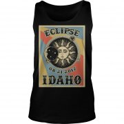 Totality Solar Eclipse 2017 In Idaho Unisex Tanktop