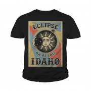 Totality Solar Eclipse 2017 In Idaho Youth Tee