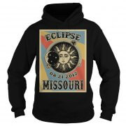 Totality Solar Eclipse 2017 In Missouri Hoodie
