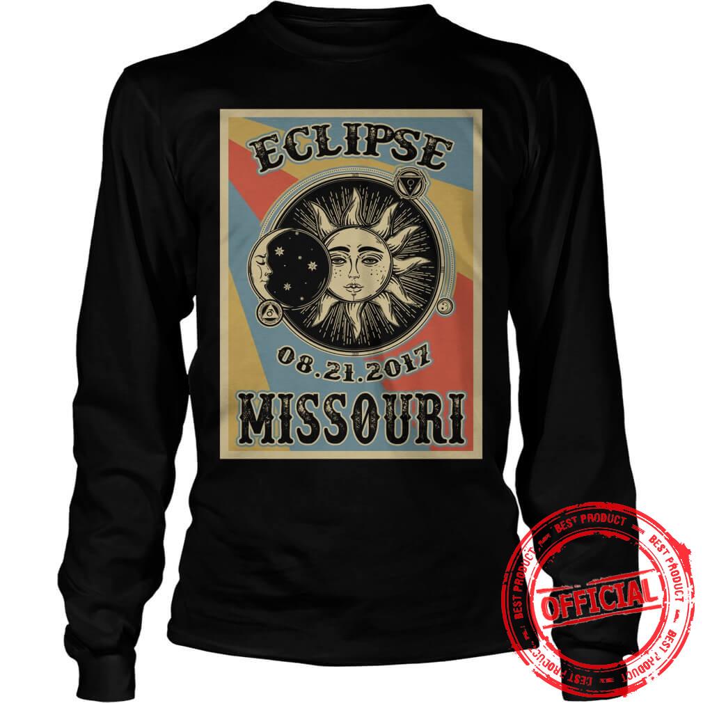 Totality Solar Eclipse 2017 In Missouri Longsleeve
