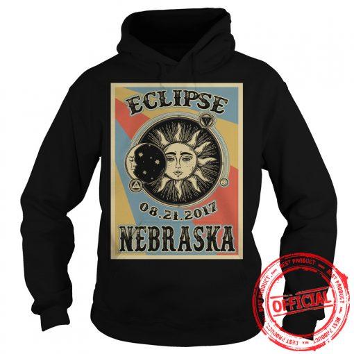 Totality Solar Eclipse 2017 In Nebraska Hoodie