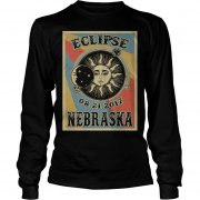 Totality Solar Eclipse 2017 In Nebraska Longsleeve