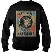 Totality Solar Eclipse 2017 In Nebraska Sweat Shirt