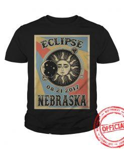 Totality Solar Eclipse 2017 In Nebraska Youth Tee