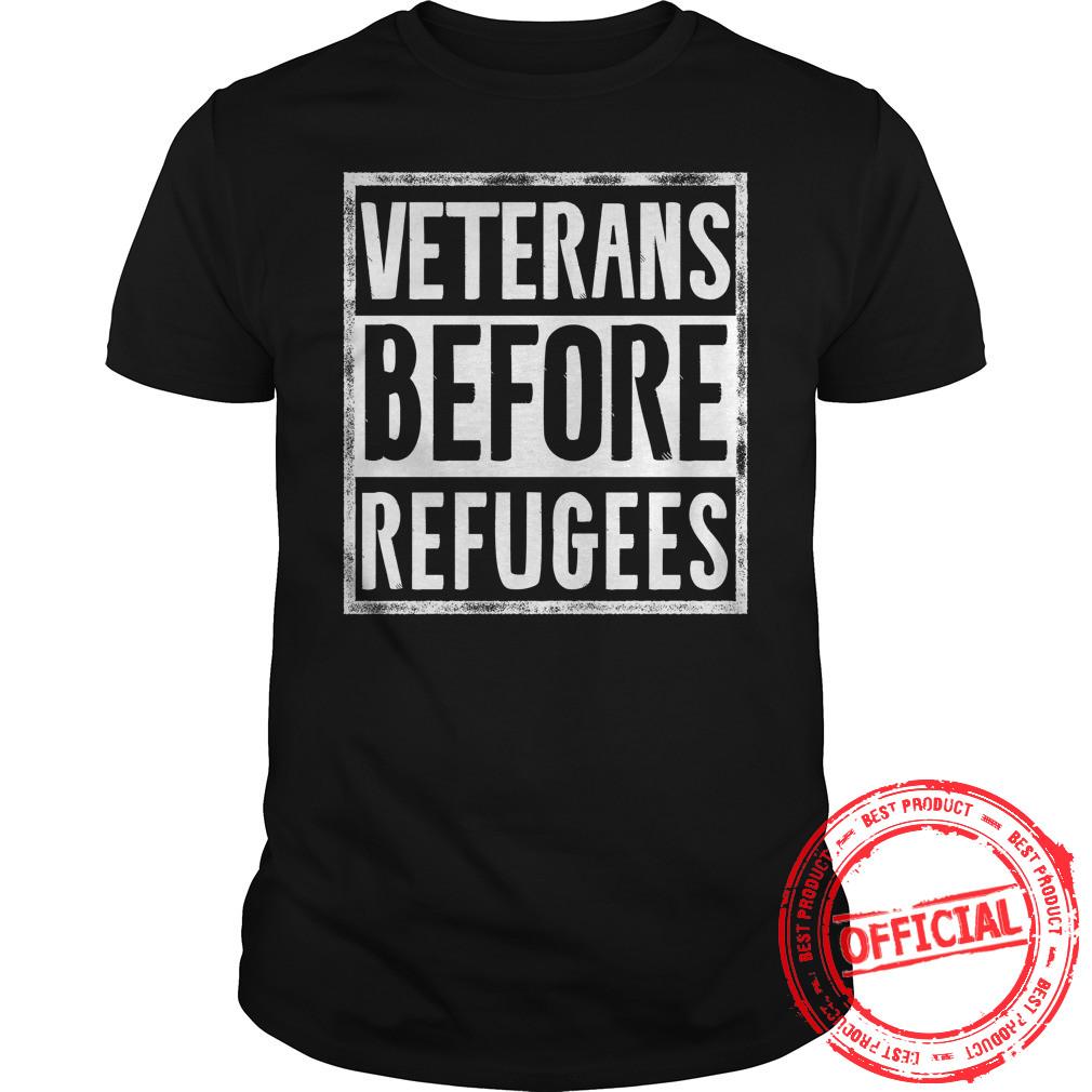 Veterans Before Refugees Guys Tee