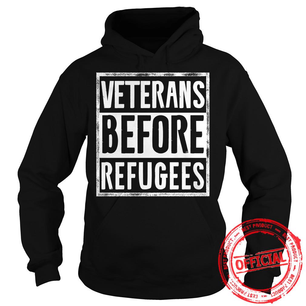 Veterans Before Refugees Hoodie.