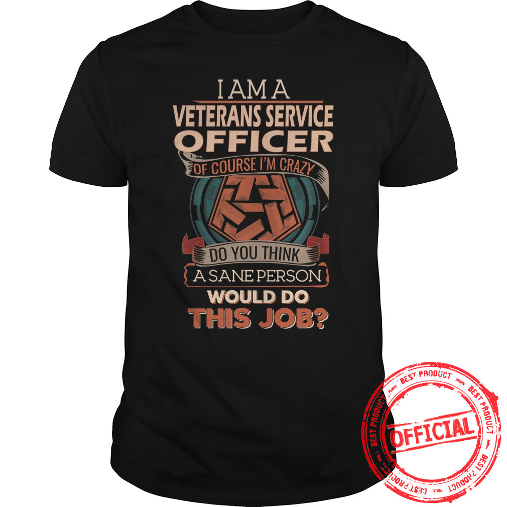 Veterans Service Officer Guys Tee