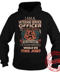 Veterans Service Officer Hoodie.