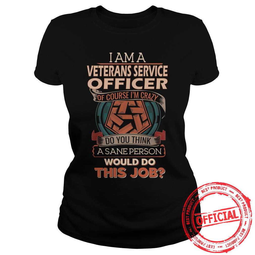 Veterans Service Officer Ladies Tee