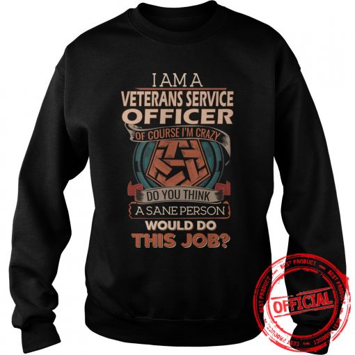 Veterans Service Officer Sweat Shirt