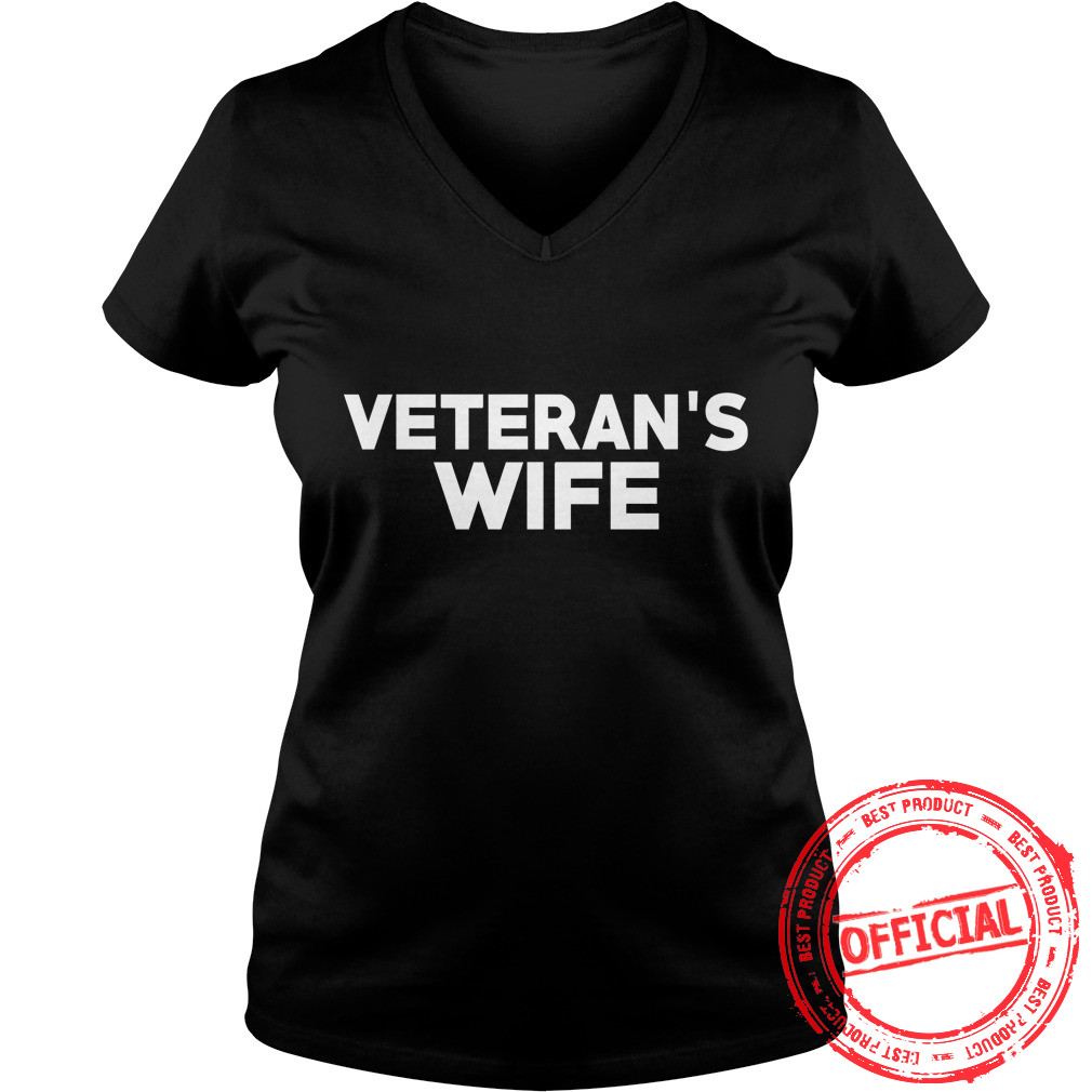 Veteran's Wife Ladies V Neck
