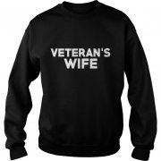 Veteran's Wife Sweat Shirt