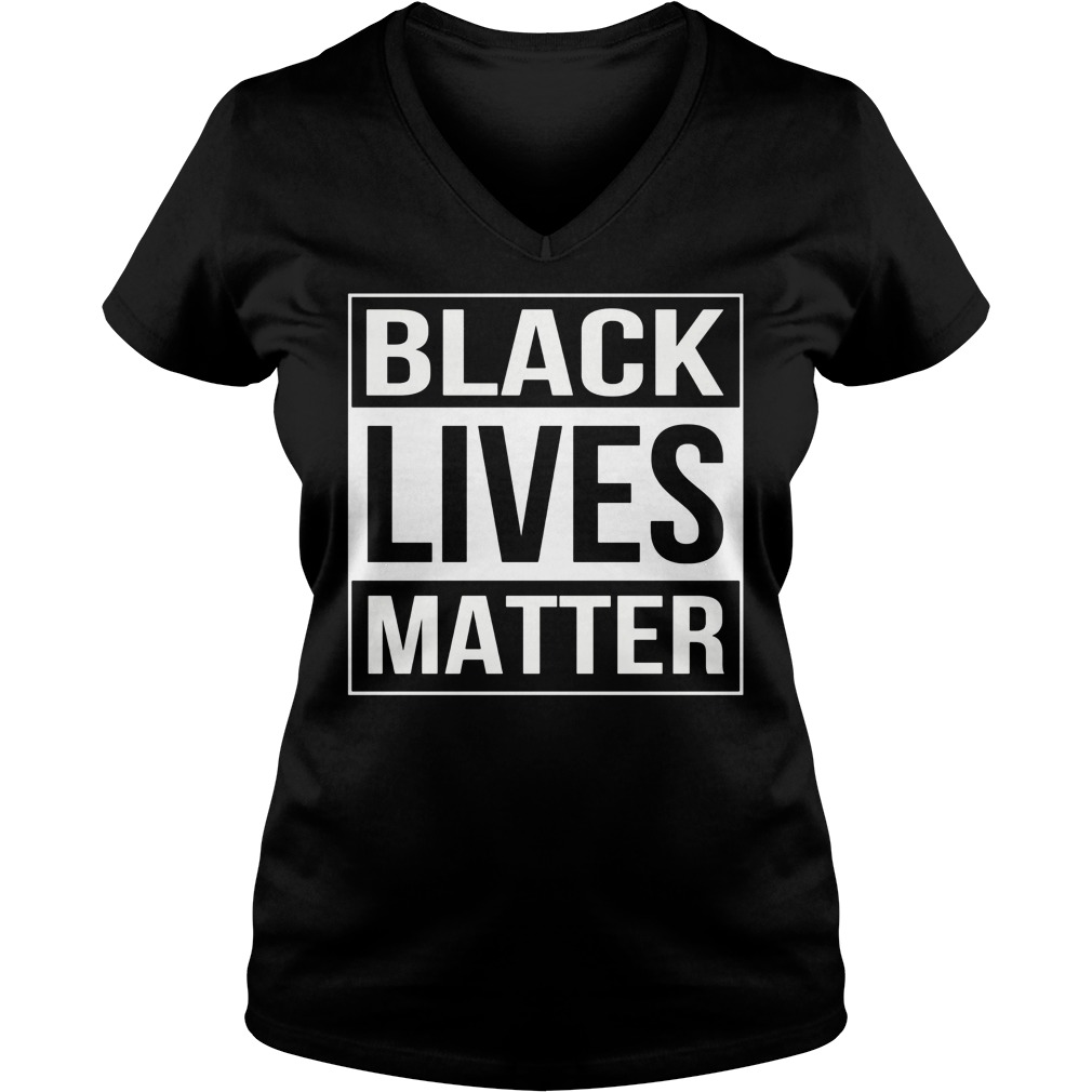 Black Lives Matter V Neck