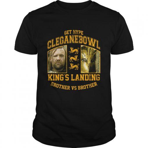 Cleganebowl Kings Brother Shirt