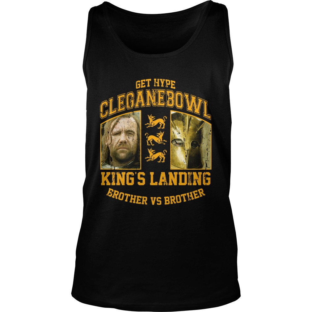 Cleganebowl Kings Brother Tank Top
