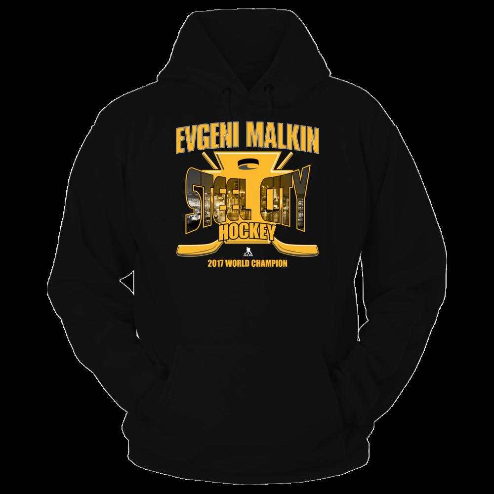 Evgeni Malkin Steel City Hockey 2017 Hoodie