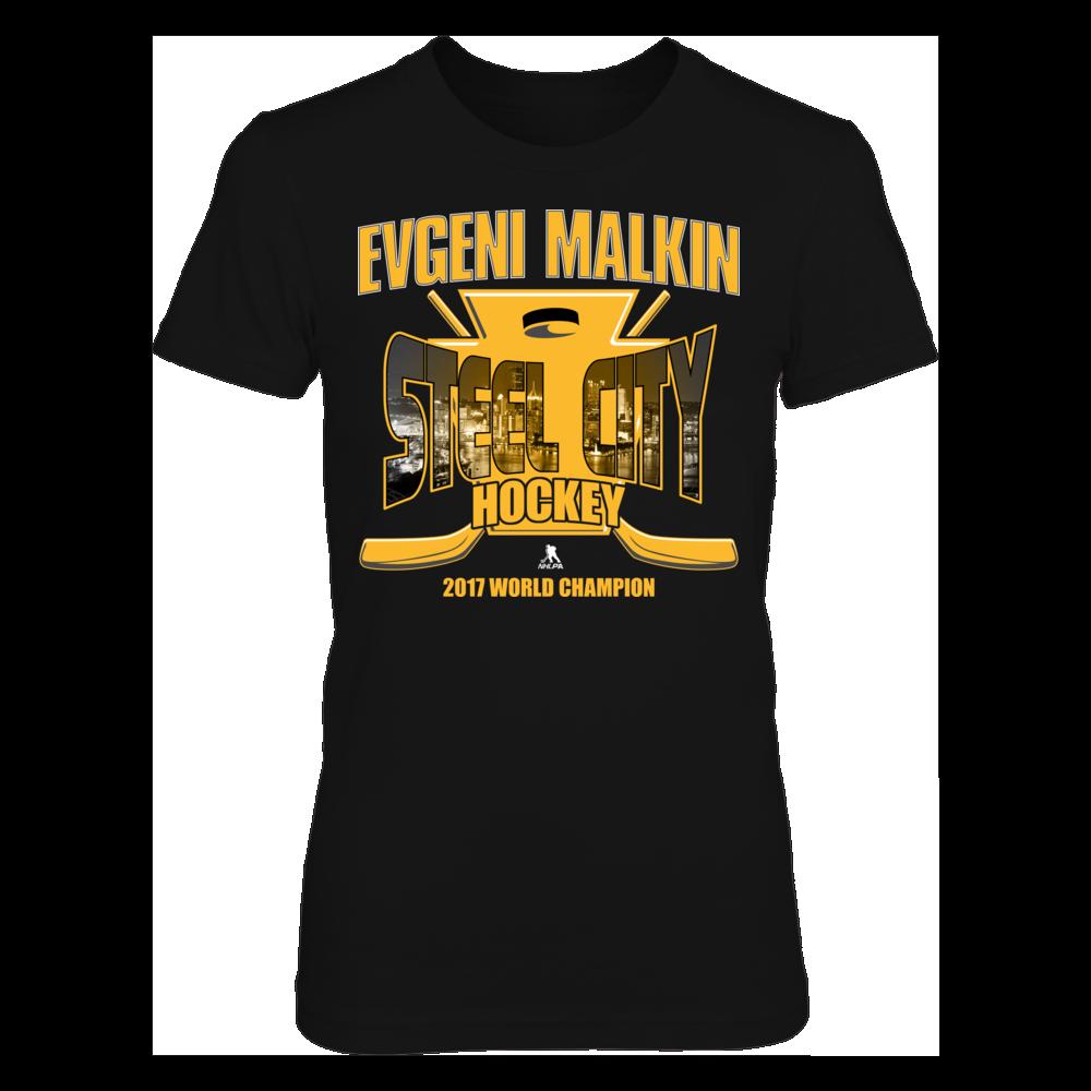 Evgeni Malkin Steel City Hockey 2017 Women T Shirt