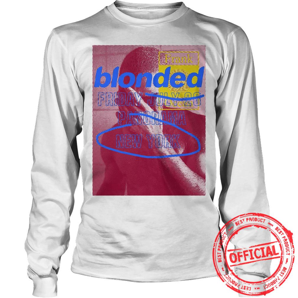 Frank Ocean Panorama Blonded Shirt