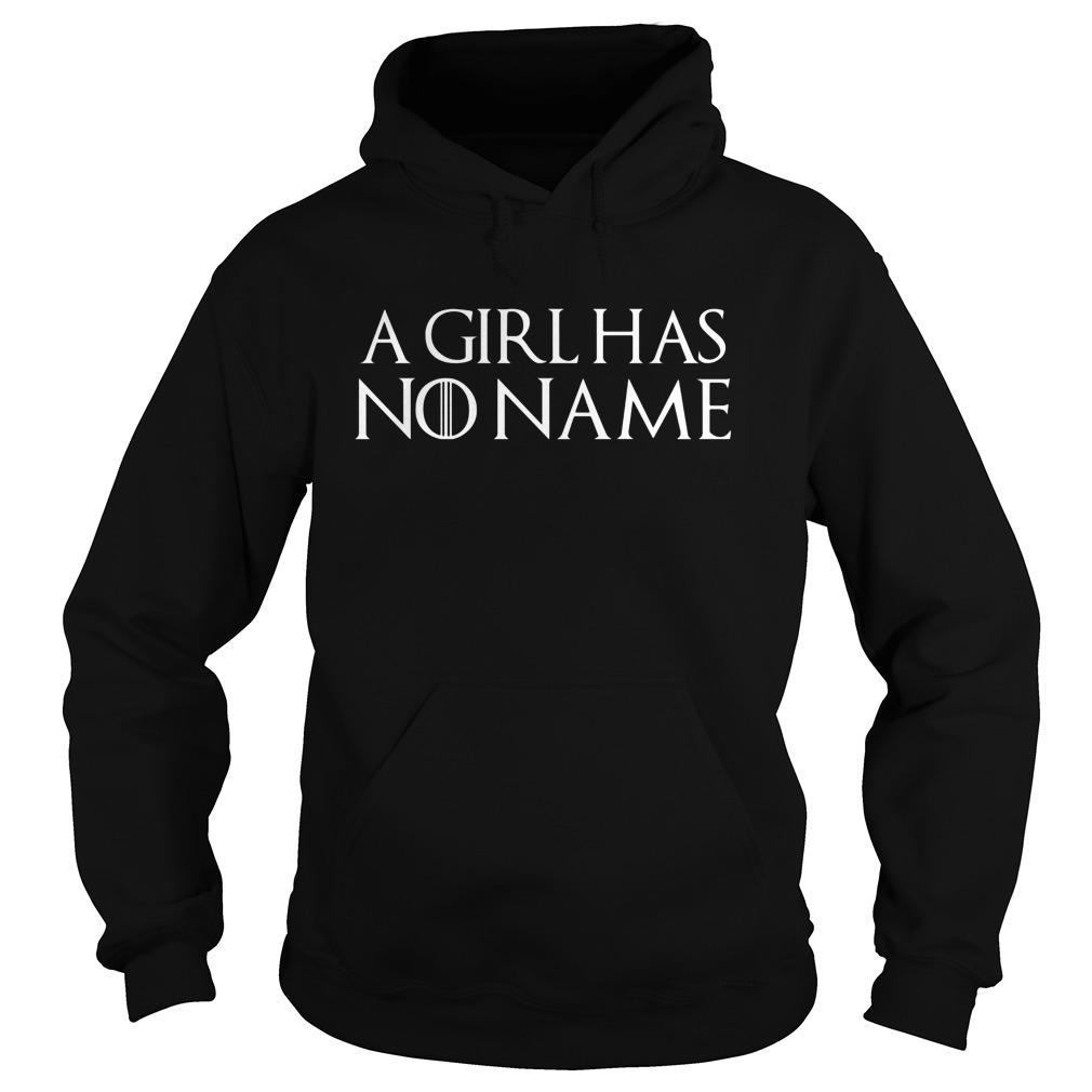 Girl No Name Hoodie
