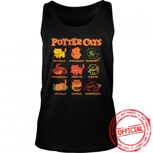 Harry Potter Wizard's Cats Shirt