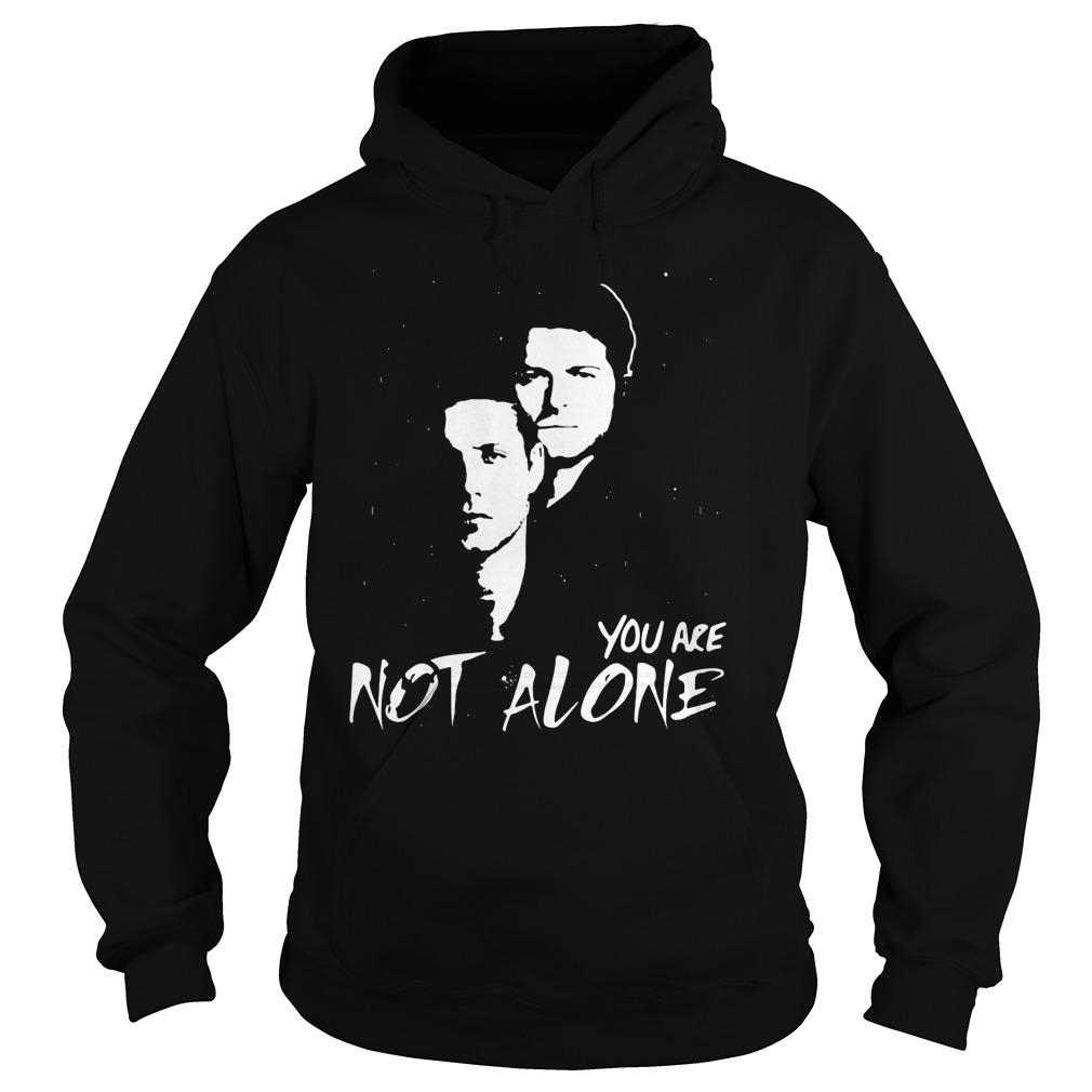 Jensen Misha Not Alone Hoodie