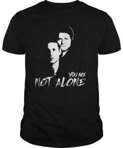 Jensen Misha Not Alone Shirt