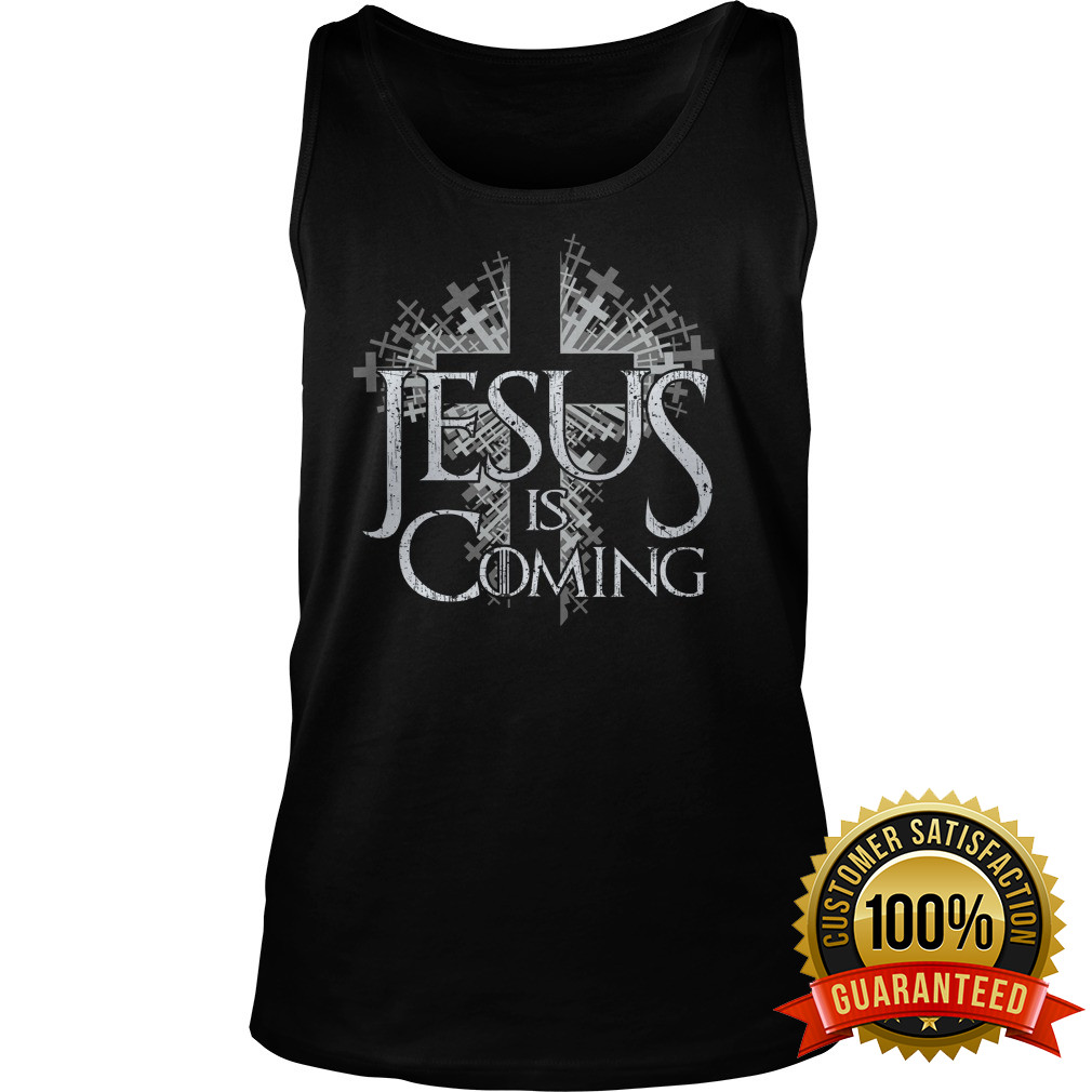 Jesus Coming Throne Tank Top