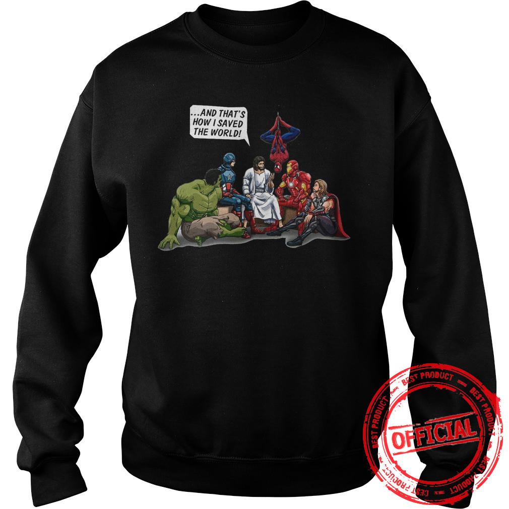 Jesus Superheroes Sweatshirt