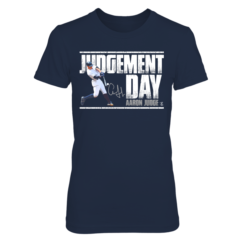 Judgement Day Aaron Judge Womenshirt