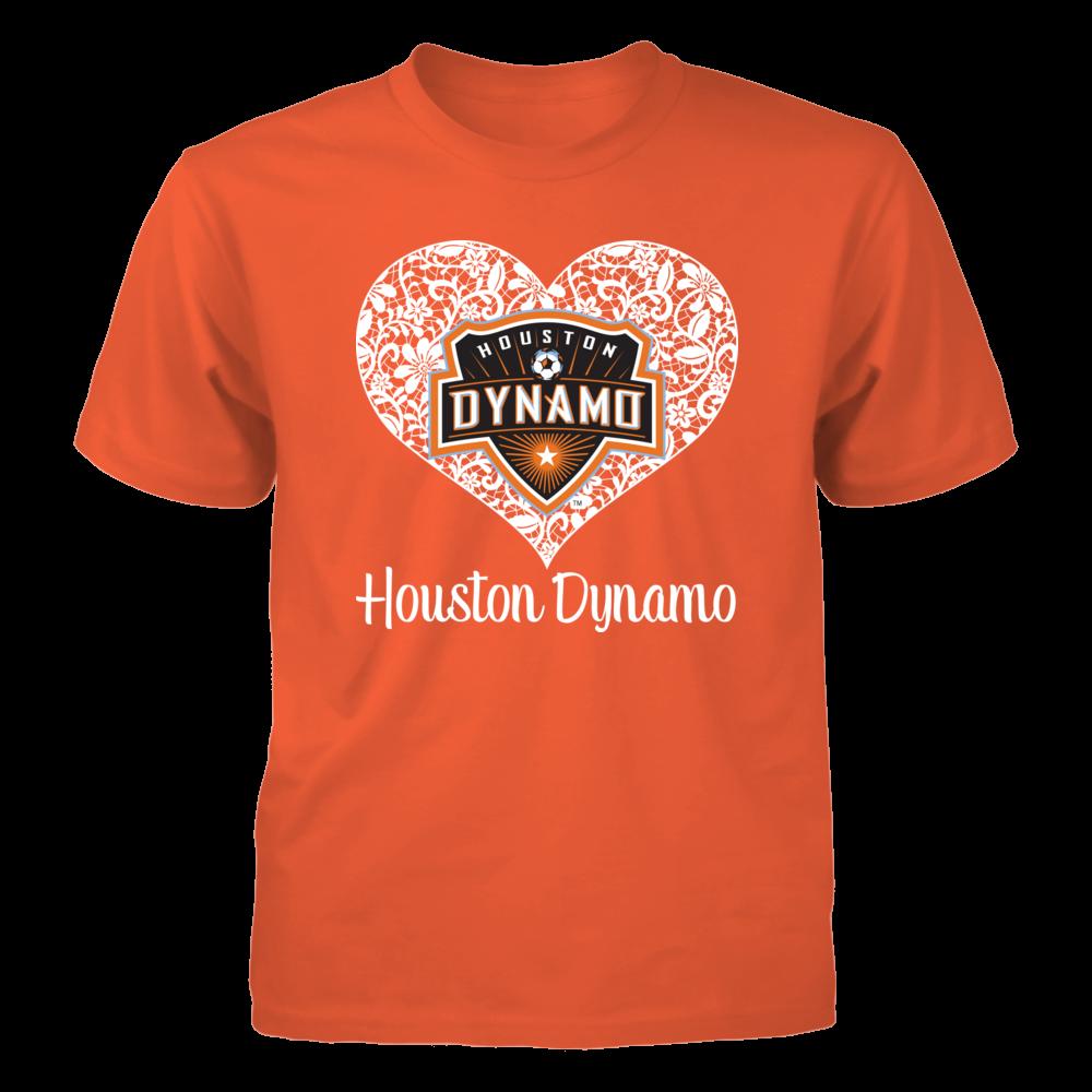 Lace Logo Houston Dynamo Menshirt