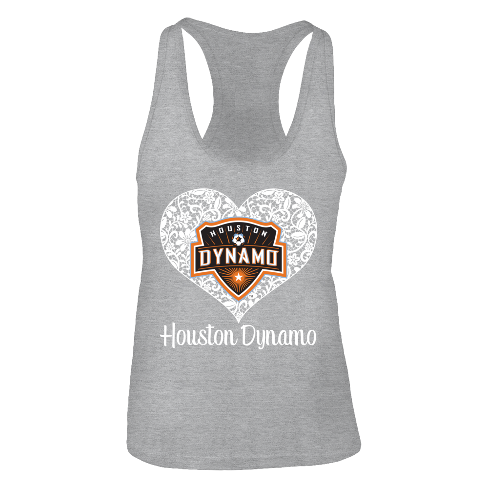 Lace Logo Houston Dynamo Tank Top