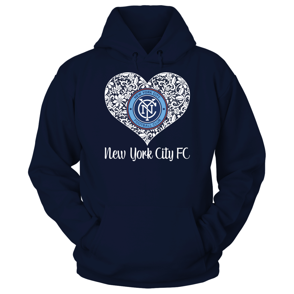 Lace Logo New York City Fc Hoodie