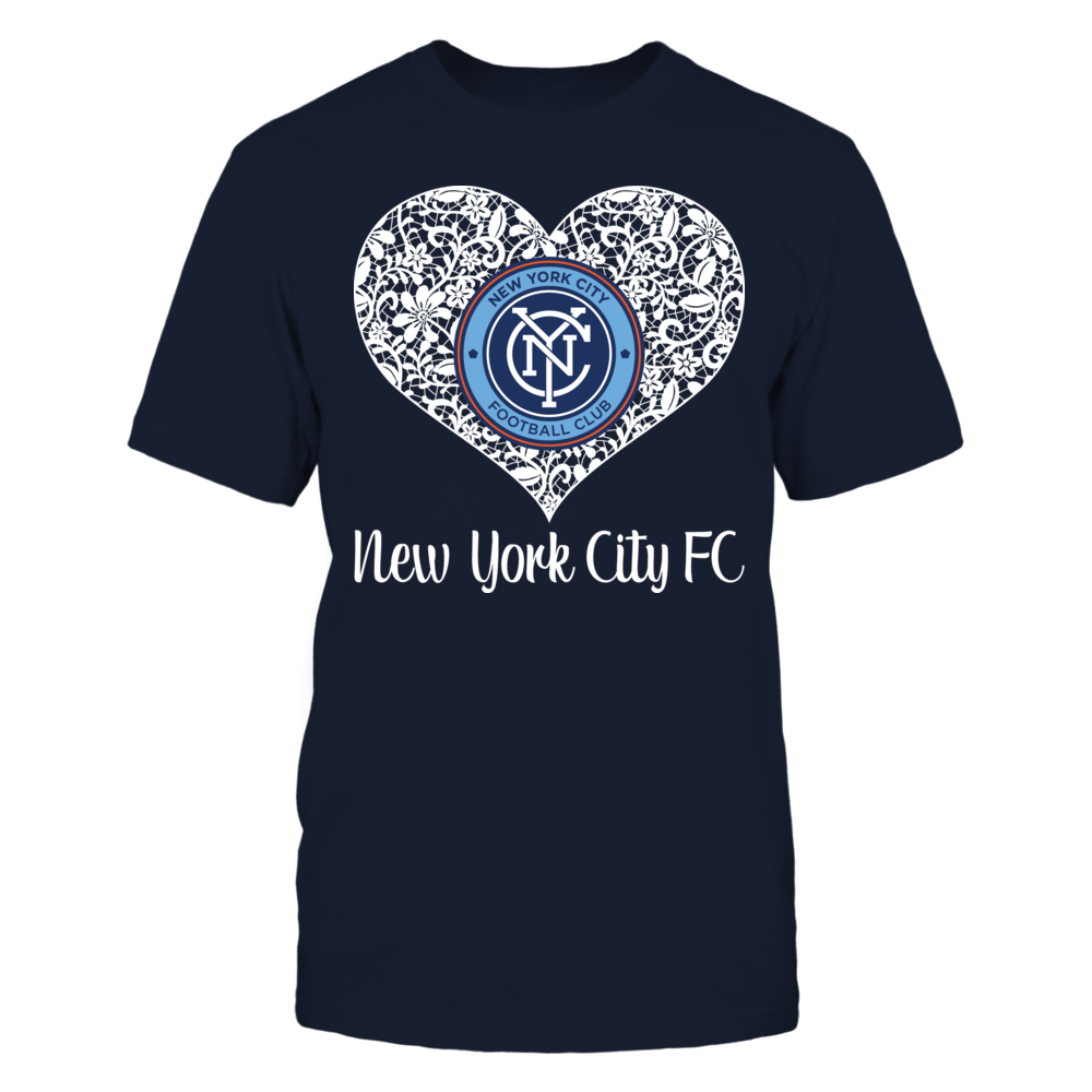 Lace Logo New York City Fc Menshirt