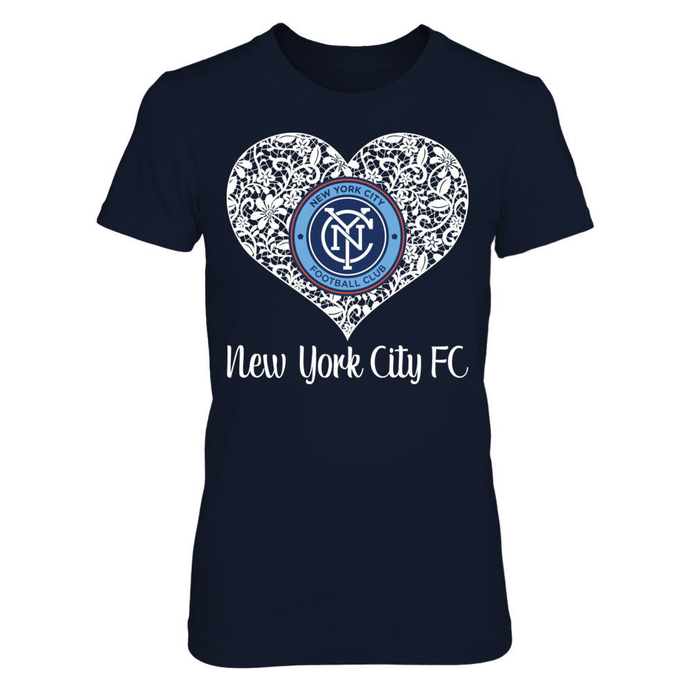 Lace Logo New York City Fc Shirt