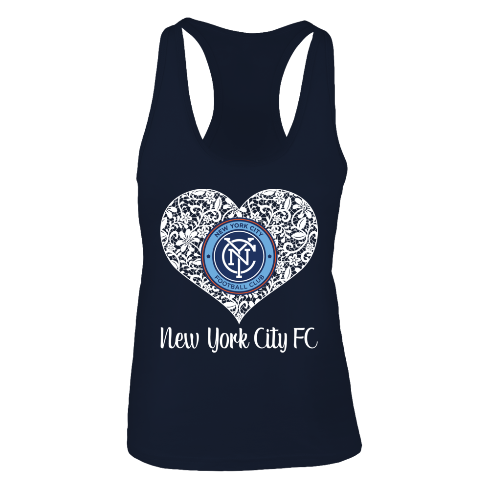 Lace Logo New York City Fc Tank Top