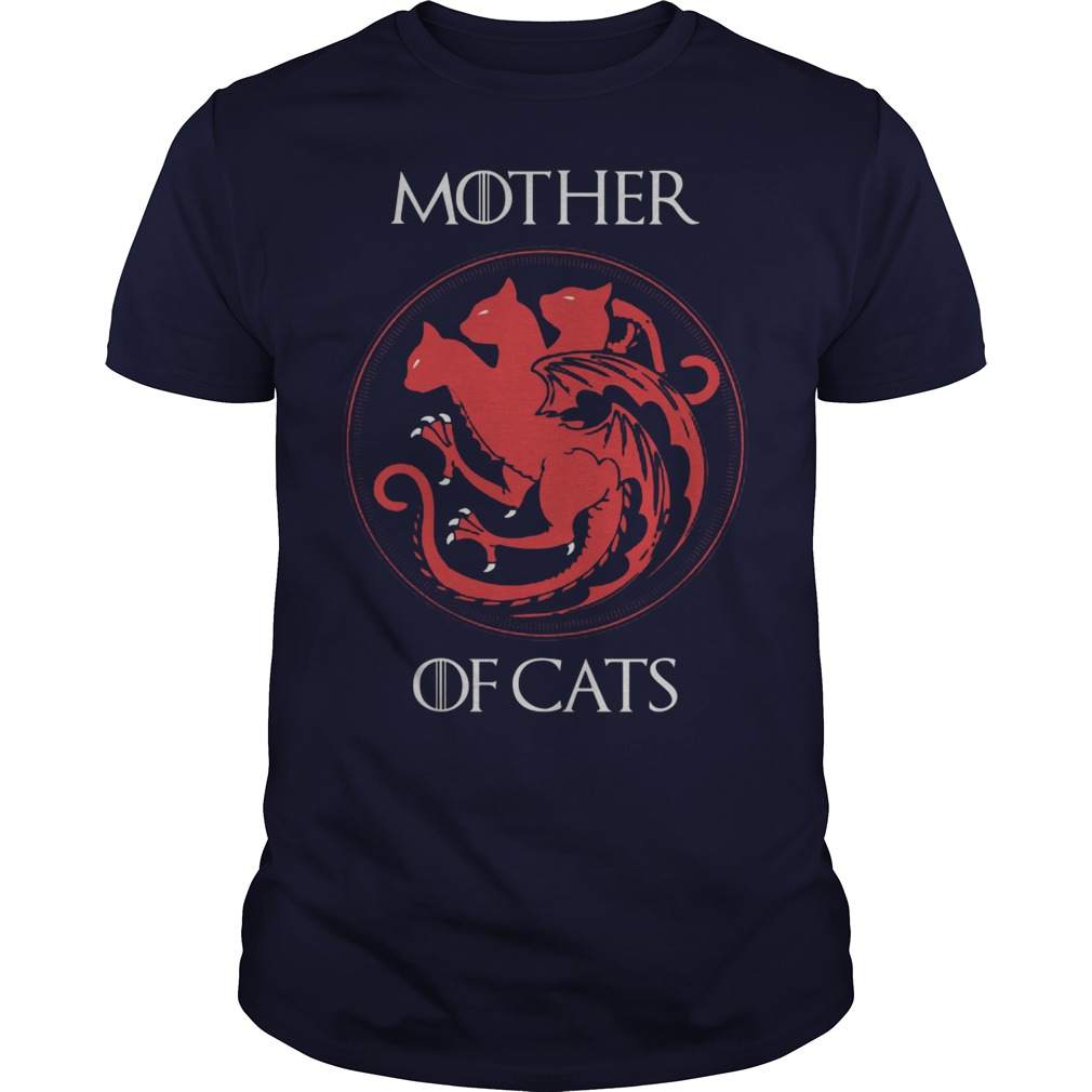 Mother Of Cats Guy Shirt
