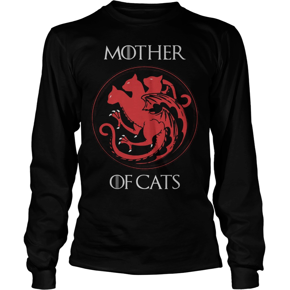Mother Of Cats Longsleeve Tee