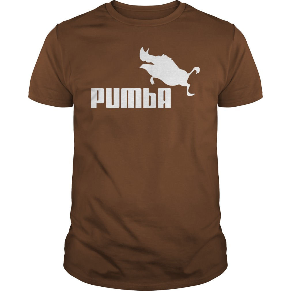 Pumba Brown Guy Shirt