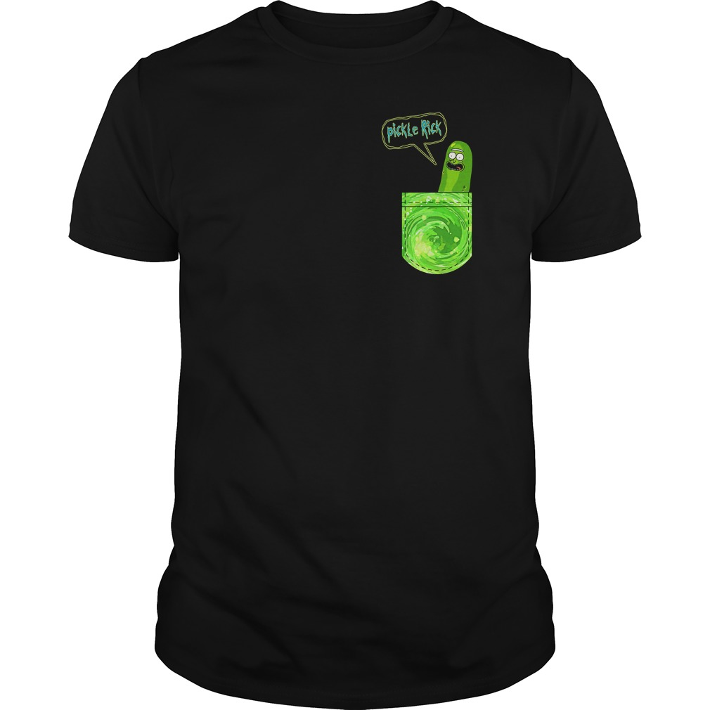 Pickle Rick Pocket Shirt