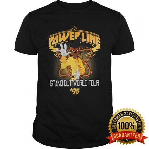 Powerline Sanout World Tour 95 Shirt