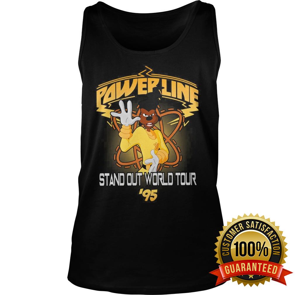 Powerline Sanout World Tour 95 Tank Top
