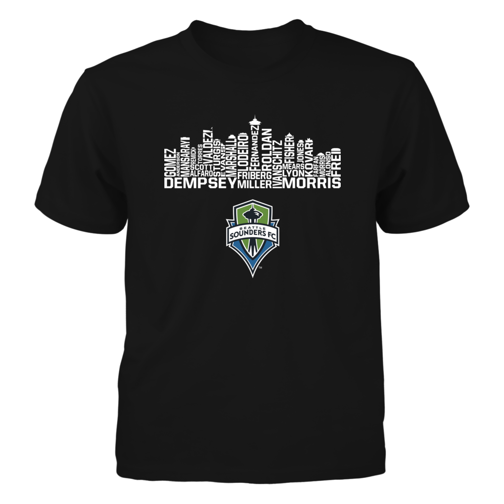 Seattle Sounders Fc Skyline Men Shirt