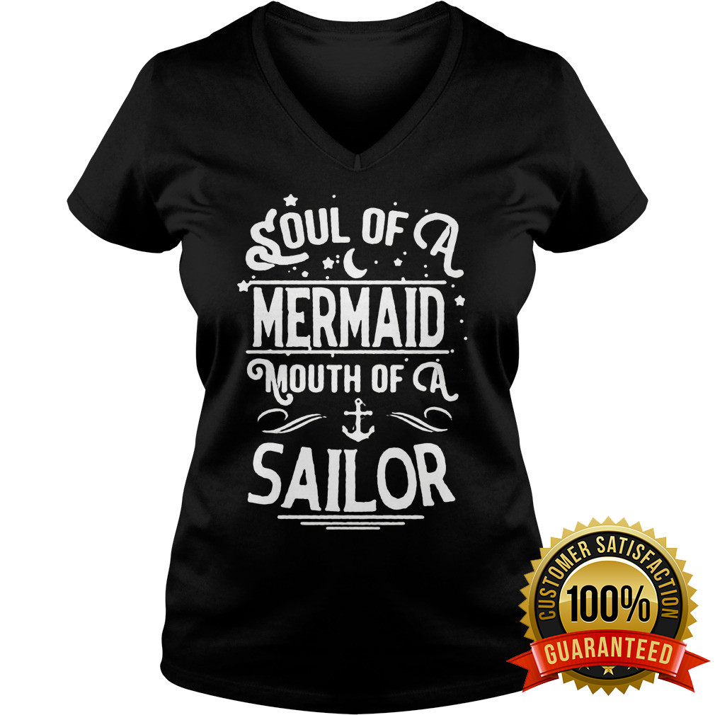 Soul Mermaid Mouth Sailor V Neck