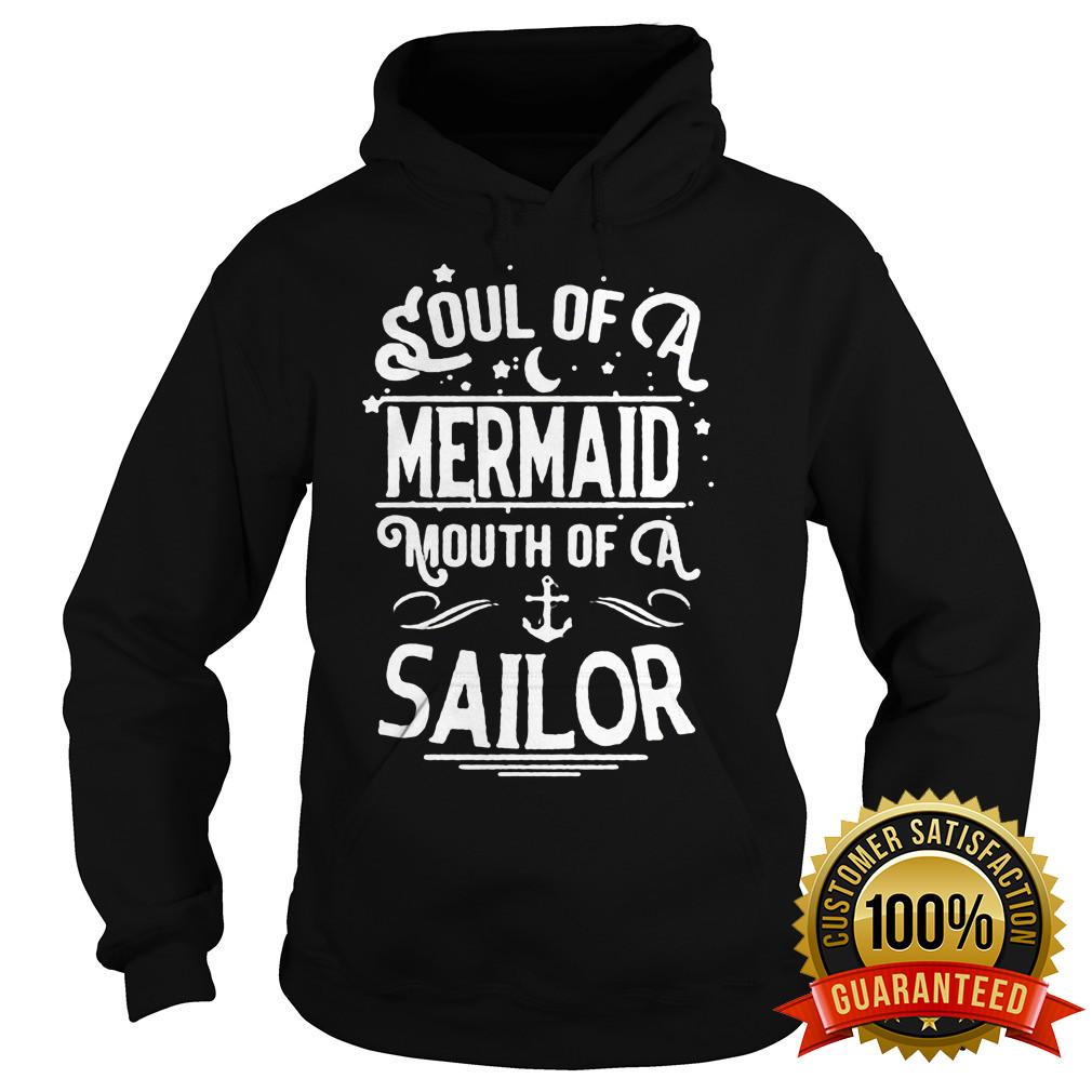 Soul Mermaid Mouth Sailor Hoodie